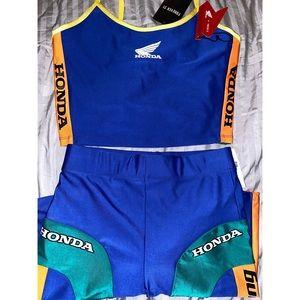 Honda racing set